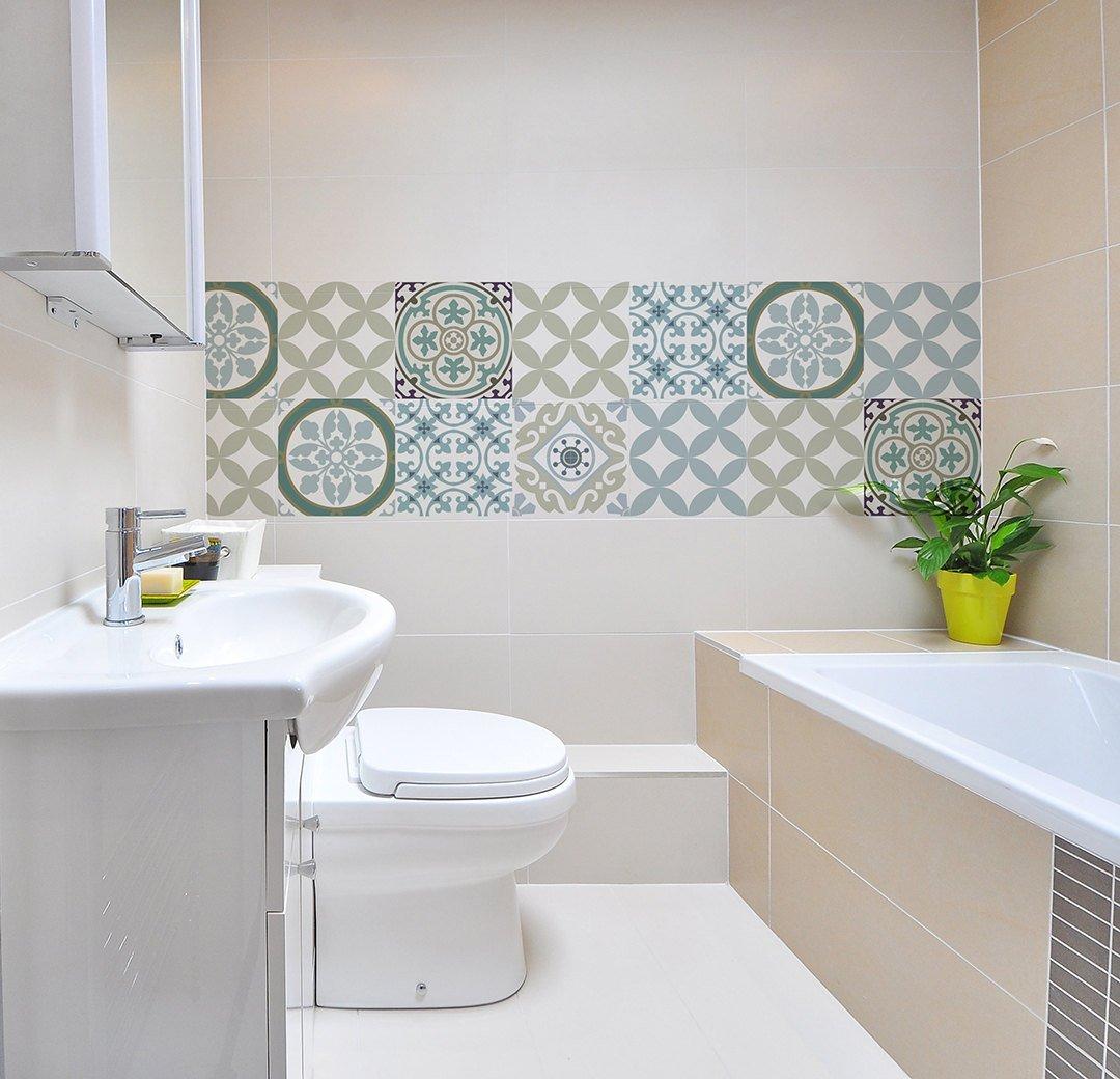 mix tile decals kitchen bathroom tiles vinyl floor tiles design 314