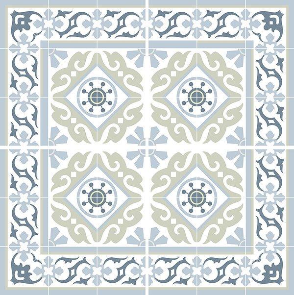 traditional tiles floor tiles floor vinyl tile stickers tile decals bathroom tile decal kitchen tile decal 212