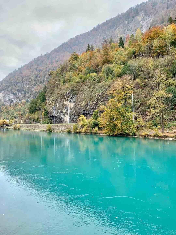 view of water at Interlaken, Switzerland