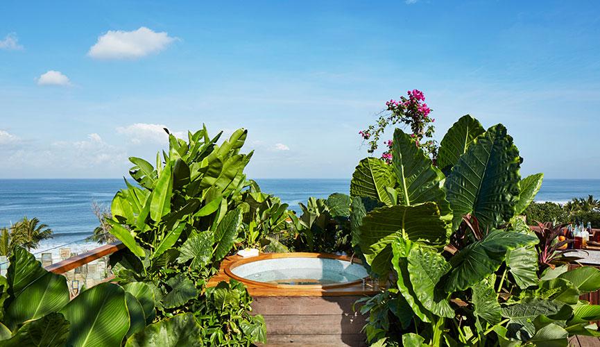 Katamama Bali suite rooftop jacuzzi