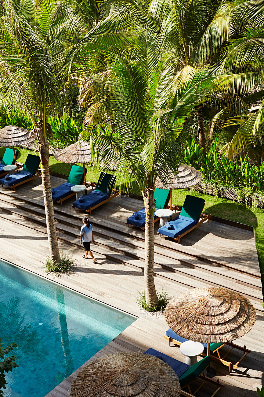 Katamama Bali Pool Area