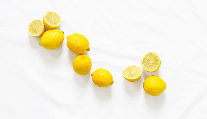 Clean Beauty kitchen remedies - lemon