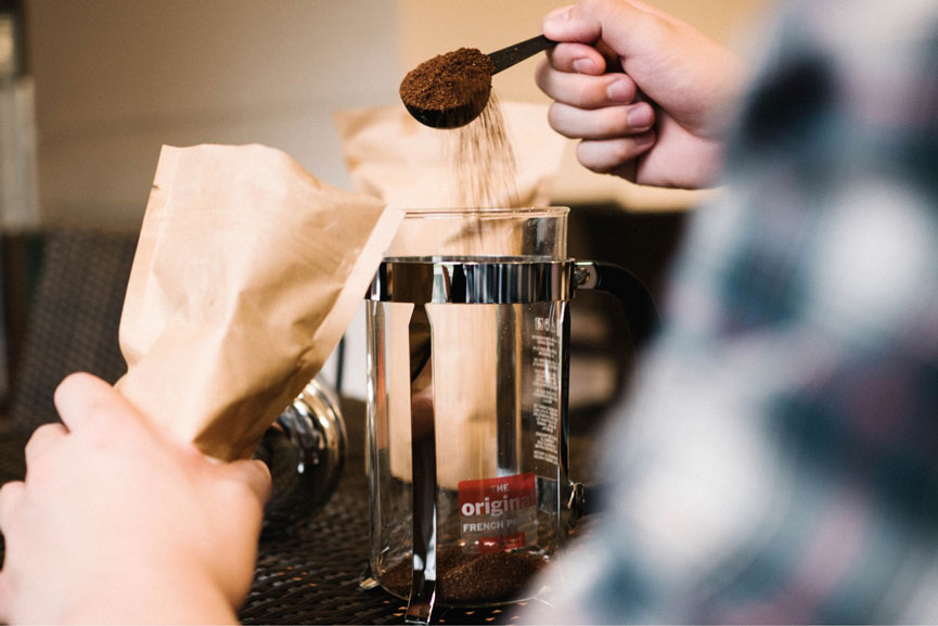 Perk Coffee Cupping French Press