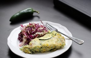 Spicing up Meatless Meals – Jalapeño and Zucchini Frittata