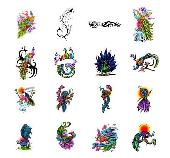 peacock symbols