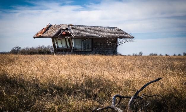 Abandoned Dairy Freeze in Carl's Corner, Texas
