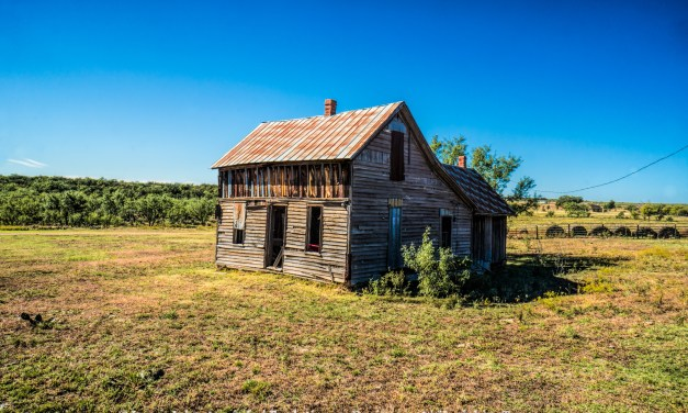Abandoned Farm House Near Abilene, Texas