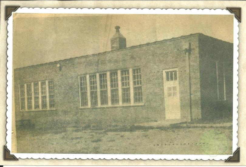 Booker T. Washington School in Stamford, Texas