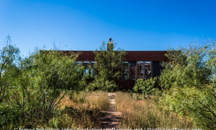 The Abandoned Booker T. Washington School in Stamford, Texas