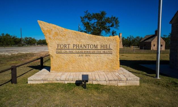 Fort Phantom Hill in Jones County, Texas