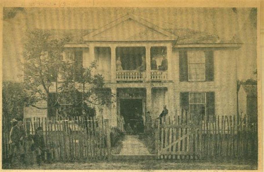 The Old Wheeler House near Honey Grove, Texas