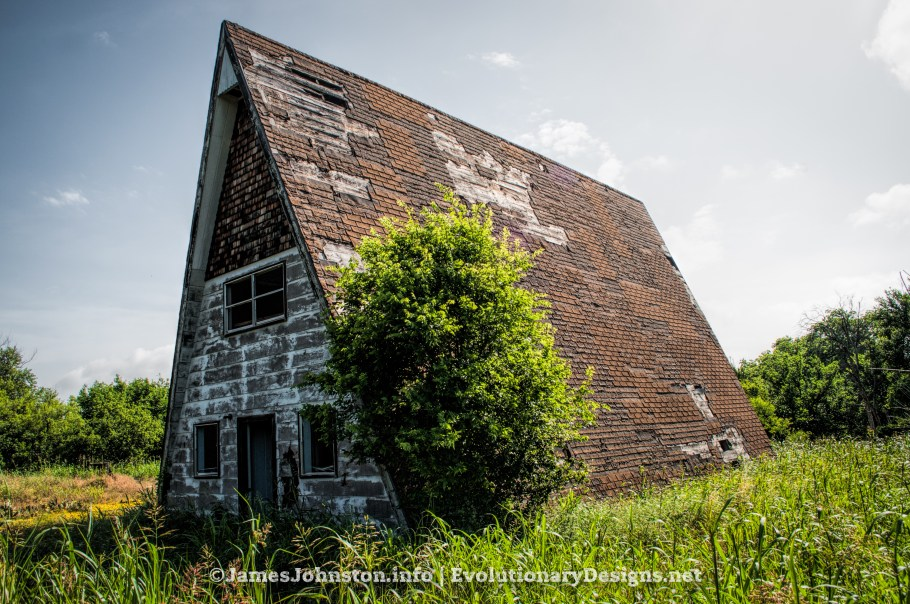 The Old A-Frame House in Jack County, Texas