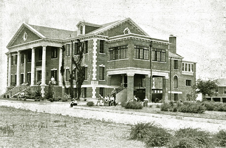 Woodmen's Circle Home in Sherman, Texas - Vintage Photo by Walter P. Lebrecht