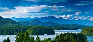 Vancouver Island Background Scene 1920