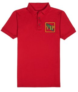 Men's VIP Polo Shirt Red
