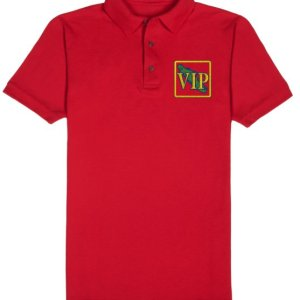 Men's VIP Polo Shirt Red