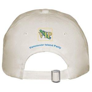 VIP Khaki Cap Rear