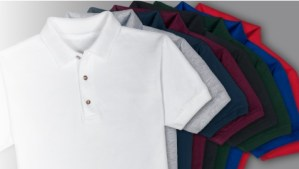 VIP Polo Shirt Colours Sample