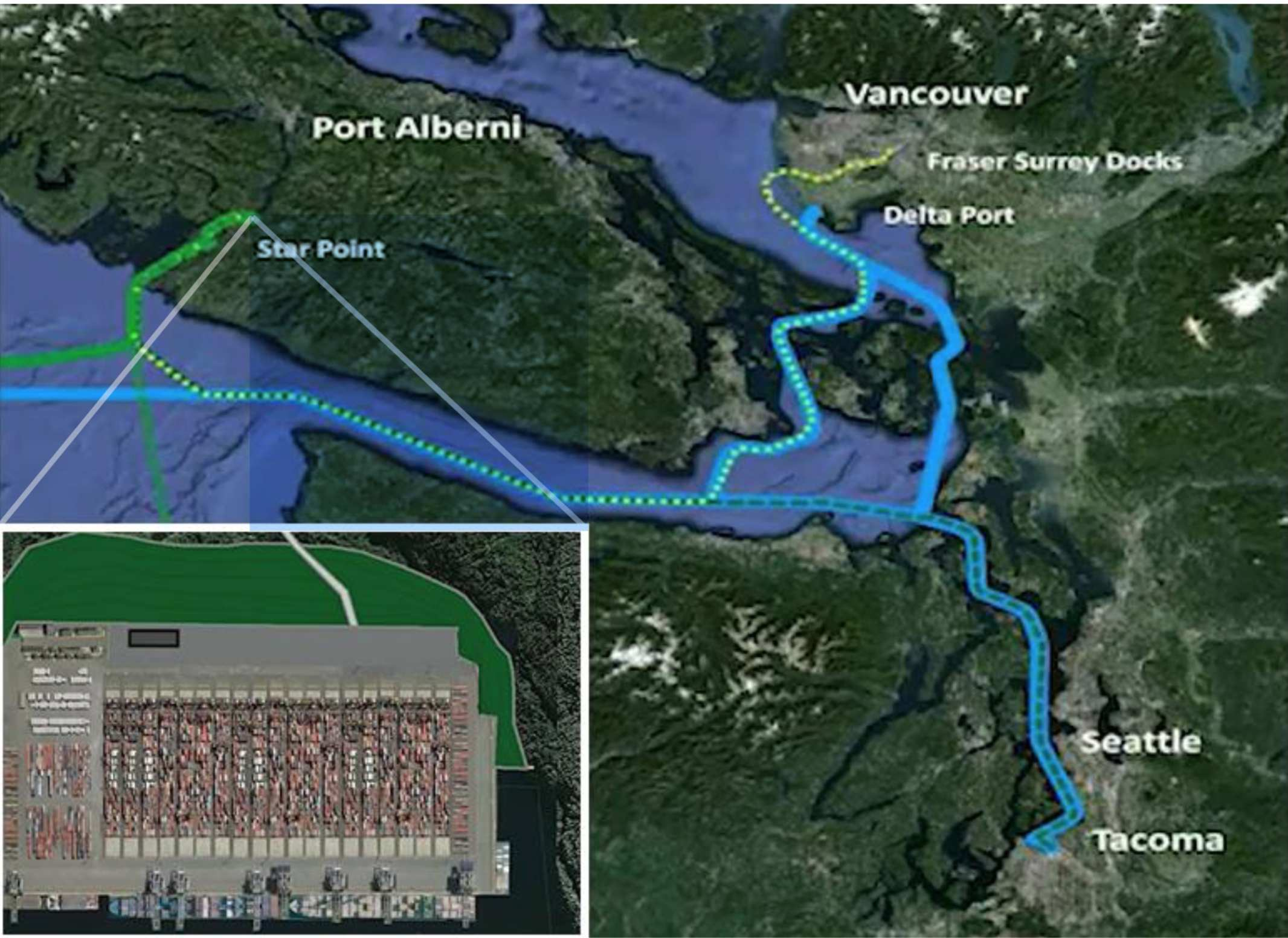 PATH Map The Vancouver Island Party Confederation