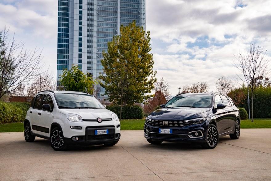 Nuevo Tipo Cross y de la gama Tipo y Panda Fiat