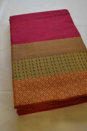 Chettinad Handloom Cotton Sarees