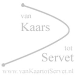 Bedrukte kaars 120/60 ivoor - Watertransfer