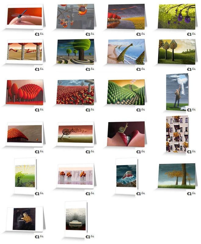 calendar, greeting cards, giclee