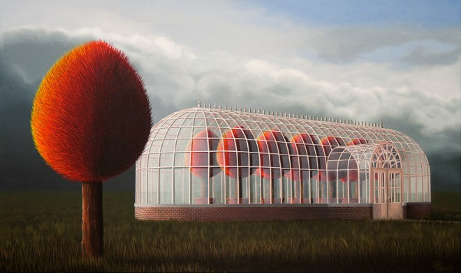 oil on canvas, Patricia Van Lubeck