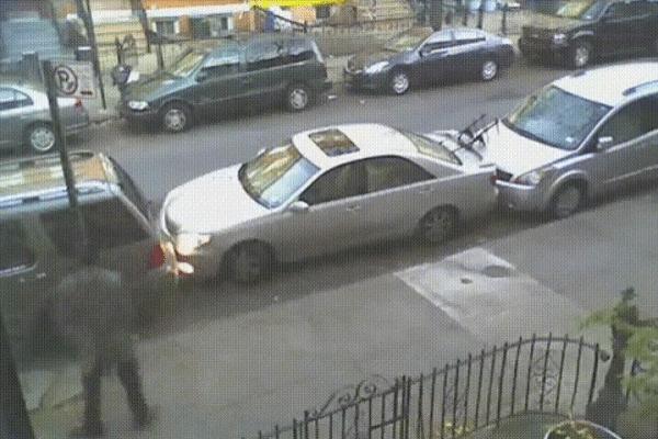 parkeren stad nipt