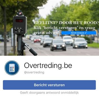 overtreding facebook fb