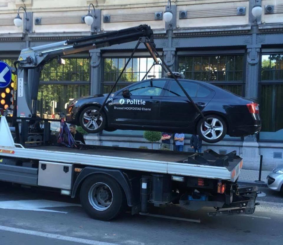 parkeerverbod politie