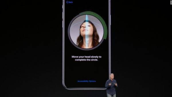iphone x face recognition gezichtsherkenning