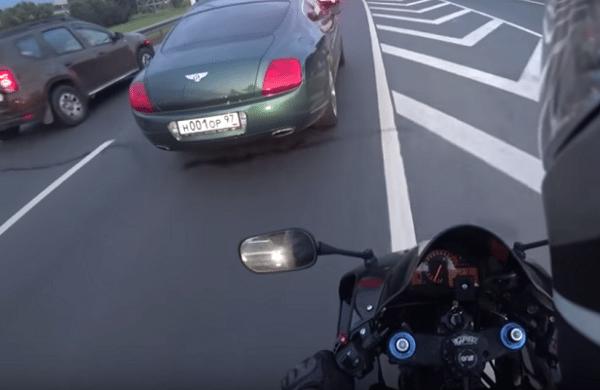 vervuilen sluikstort bentley moto russisch rusland