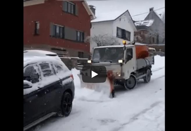 charleroi sneeuwruimer