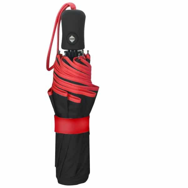 Opvouwbare paraplu ECO Petit Bordure - Rood