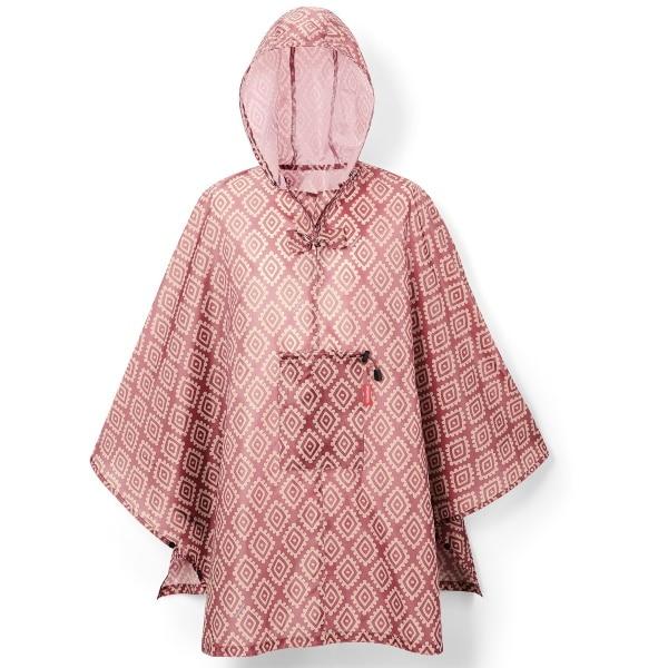 Reisenthel Mini Maxi poncho Diamonds Rouge
