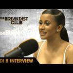 Cardi B (@IAmCardiB) Talks Her New Mixtape, Adjusting To Fame, & More w/The Breakfast Club