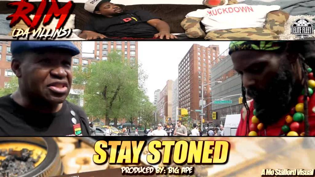 Video: Rim (of Da Villins) & Big Ape - Stay Stoned (@DaVillins)