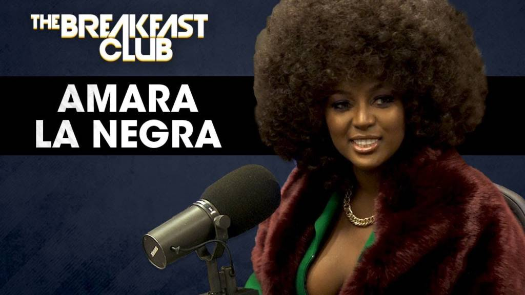 Amara La Negra (@AmaraLaNegraALN) Talks Being Afro-Latina & More w/The Breakfast Club