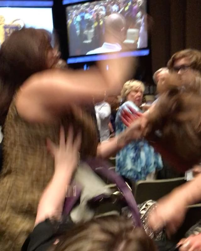 White Women Fight Over Seats @ High School Graduation