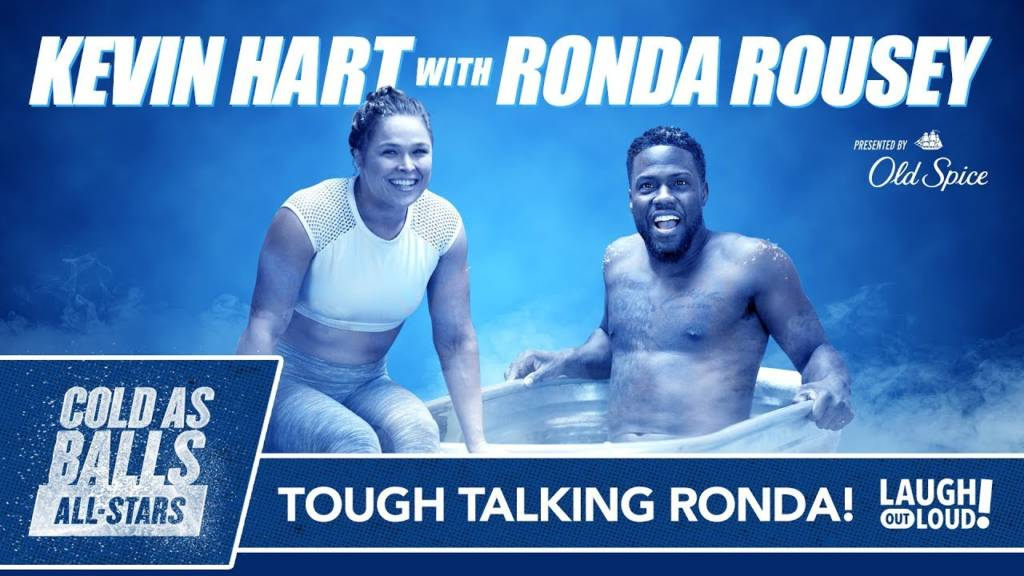 Ronda Rousey Takes No BS From Kevin Hart On 'Cold As Balls All-Stars'