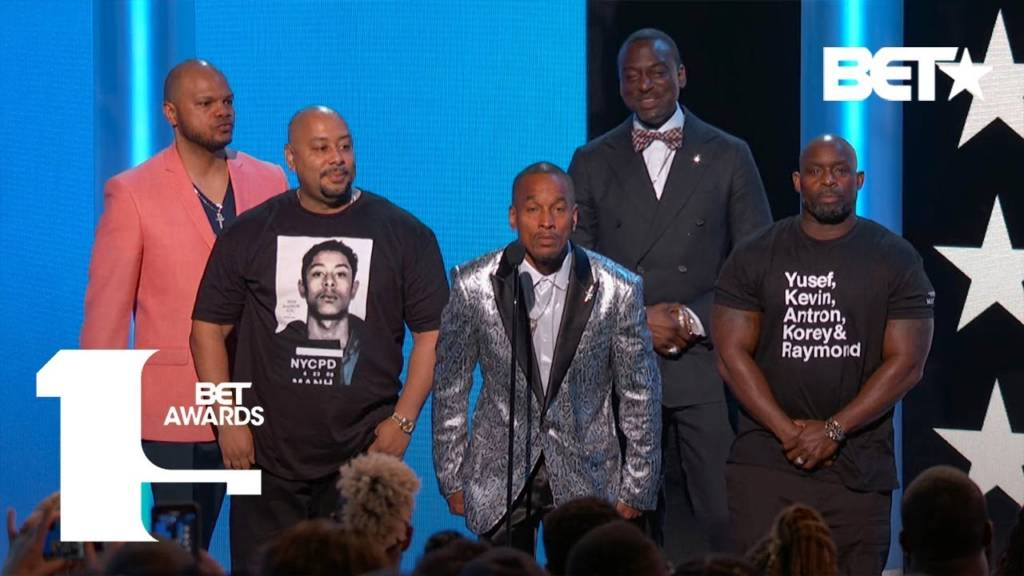 The Exonerated Five (fka Central Park Five) Honored For Truth & Resilience At 2019 BET Awards