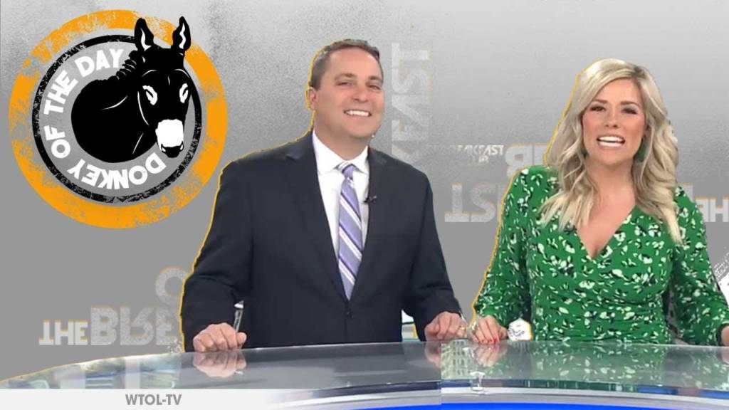 Local Ohio News Anchors Use Of 'Hip Lingo' In Cringey Viral Video Segment Earns Them Donkey Of The Day