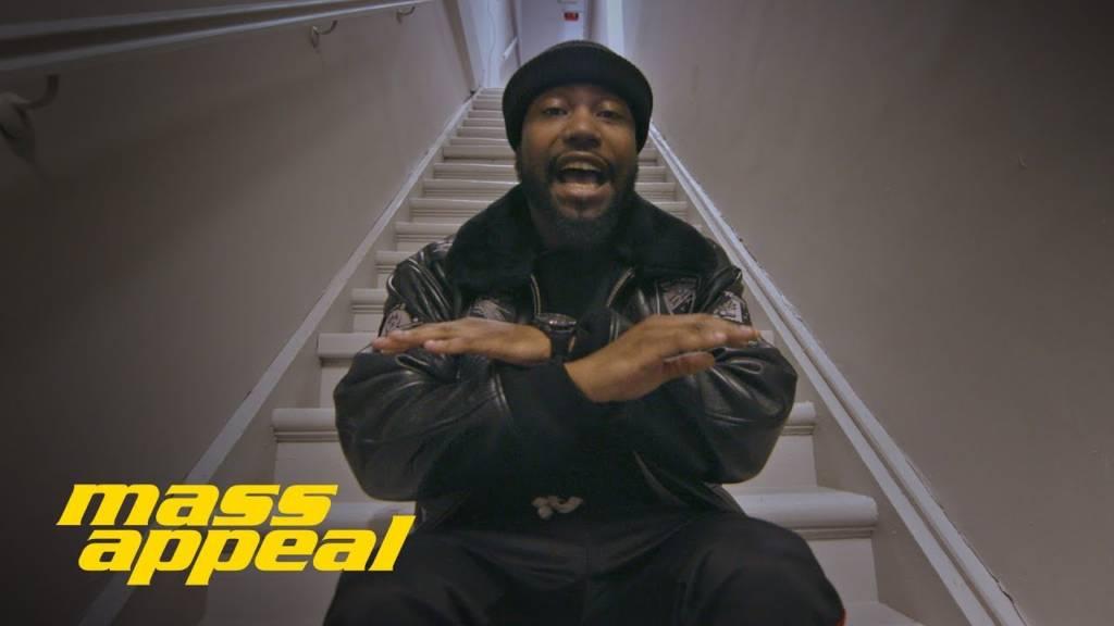 Nino Man On Mass Appeal's 'Stairwell Freestyle' (@ImNinoMan)