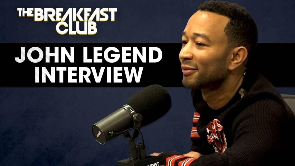 John Legend Speaks On Who Bit Beyonce, Jesus Christ Superstar, New Music, & More w/The Breakfast Club (@JohnLegend)
