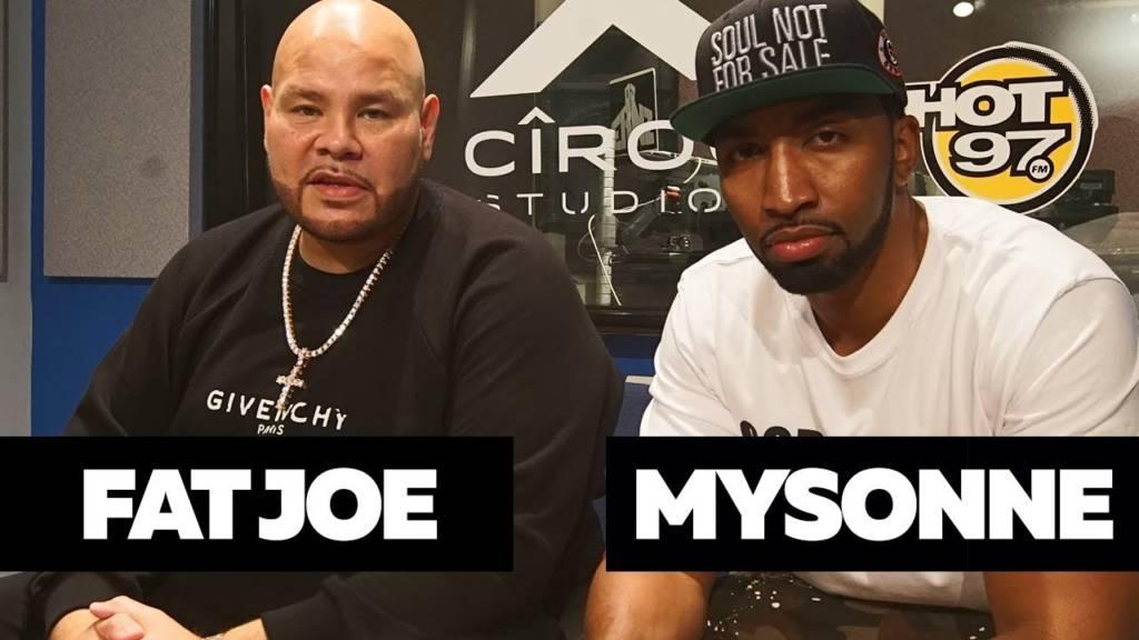 Fat Joe & Mysonne Kick Freestyles On Hot 97 w/Funkmaster Flex