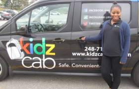 Young Black Entrepreneur Starts Her Own Uber-Type Service For Kids