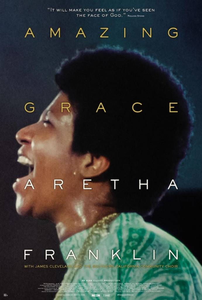 1st Trailer For Aretha Franklin Documentary 'Amazing Grace'