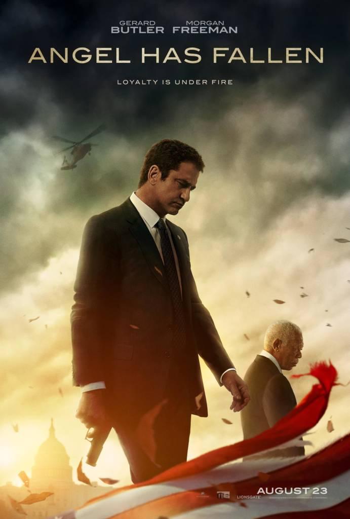 1st Trailer For 'Angel Has Fallen' Movie Starring Gerard Butler & Morgan Freeman