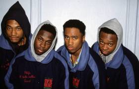 A Tribe Called Quest back in their younger years